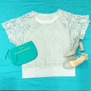 Maurices Lace Blouse
